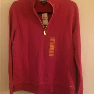 Women pink sweatshirt size M new with tags